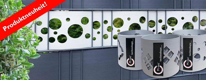 M-tec dekor Hart-PVC Sichtschutz